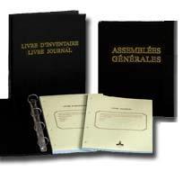 Lot de 2 registres sarl assembl e g n rale livre journal et inventaire e statuts - Creation d une sci familiale ...