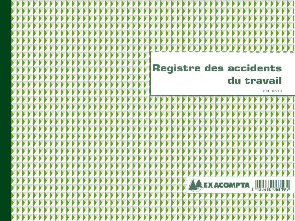 E statuts registre accidents du travail exacompta 6619e - Creation d une sci familiale ...